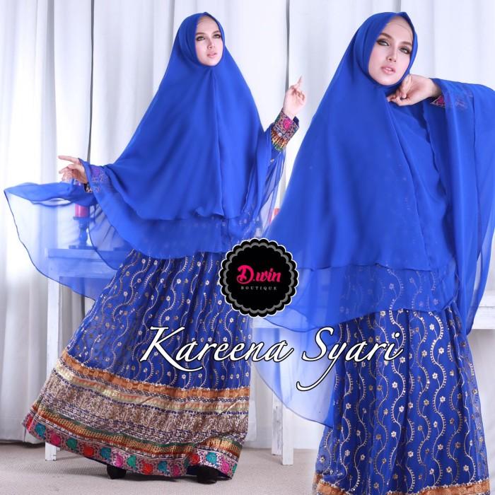 Jual Kareena New Syari India Mewah Gamis Sari India Premium Muslim