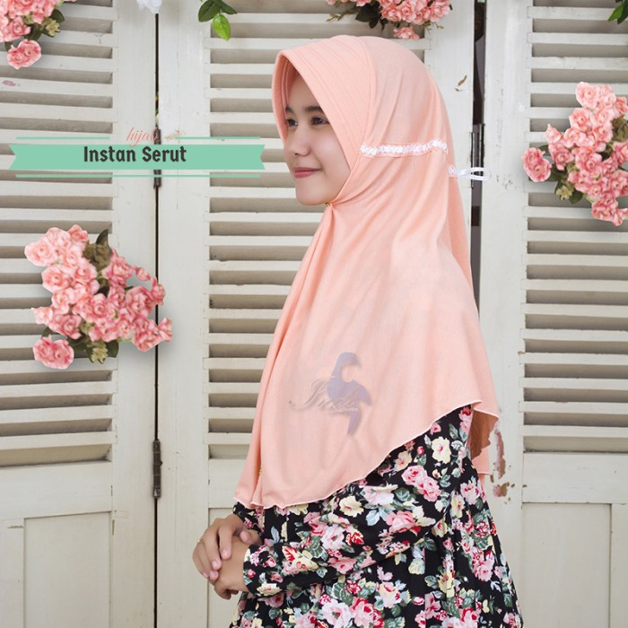 Foto Produk Jilbab Instan Serut Limited Murah dari Raesha hijab