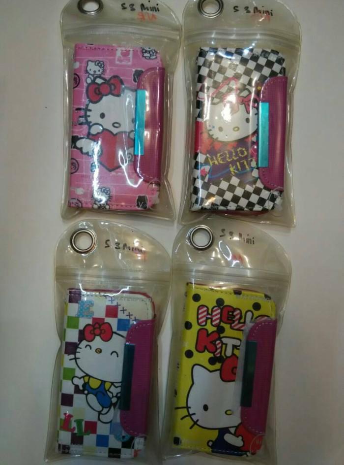harga Samsung s3mini s3 mini flip cover gambar sarung buku casing case Tokopedia.com