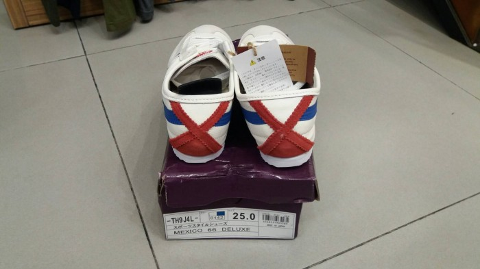 Jual onitsuka tiger deluxe 66 ORIGINAL made in japan (100% KULIT ... f63364d61f