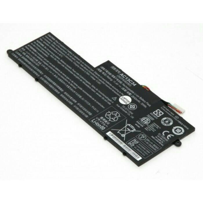Baterai Laptop Original Acer Aspire V5 122 122P 132 AC13C34