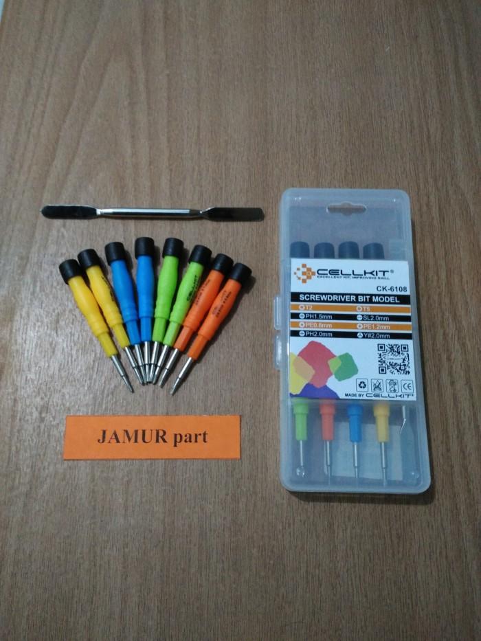 harga Obeng Handphone Cellkit S6108 (1 Set) Tokopedia.com