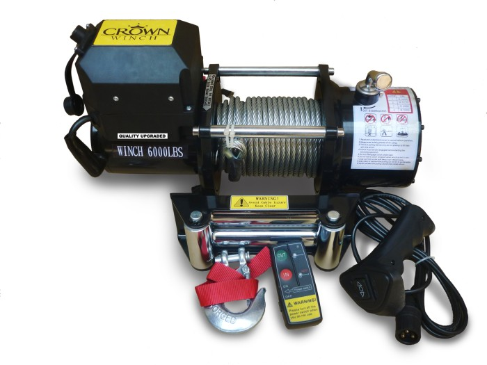harga Winch crown 6000lbs / 2.7ton Tokopedia.com