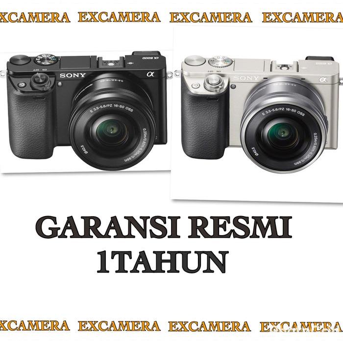 harga Sony a6000 kit 16-50mm garansi resmi sony indonesia!!! Tokopedia.com