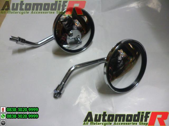 harga Spion mini cembung bulat universal aksesoris motor retro Tokopedia.com