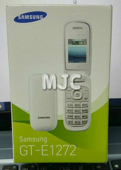 harga Samsung caramel gt-e1272 new garansi resmi sein ready black n white Tokopedia.com