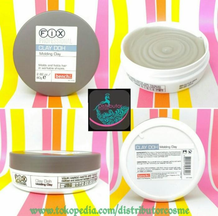 harga Fix professional clay doh 80gram original 100% [ hair wax / pomade ] Tokopedia.com