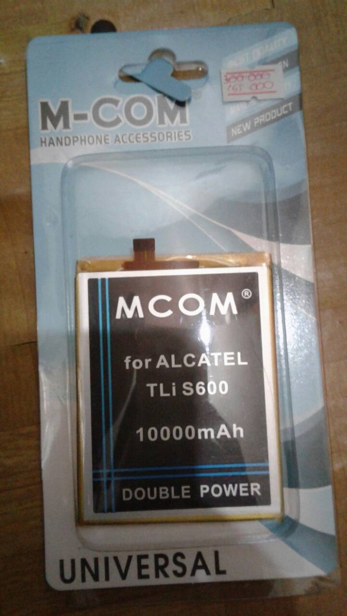 harga Baterai Alcatel One Touch Flash Plus Tlis600 Tli-s600 Ot-7054 Mcom Tokopedia.com