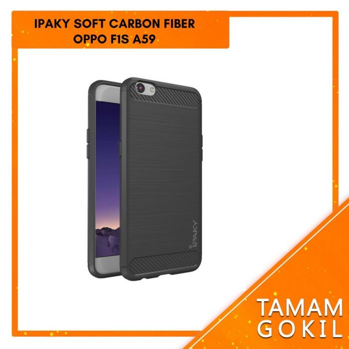 harga Case ipaky carbon fiber oppo f1s / a59 soft series Tokopedia.com
