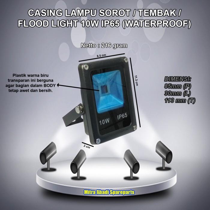 harga Casing lampu led sorot/tembak/flood light 10w/10 watt waterproof Tokopedia.com