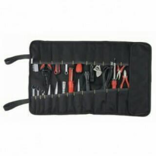 harga Tas perlengkapan peralatan listrik / 32 pocket socket tool roll bag Tokopedia.com