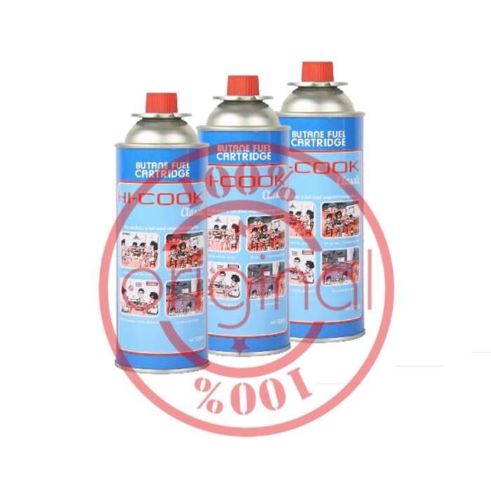harga Gas kaleng kompor portable/gas kaleng hi cook/gas kaleng las (3 pcs) Tokopedia.com