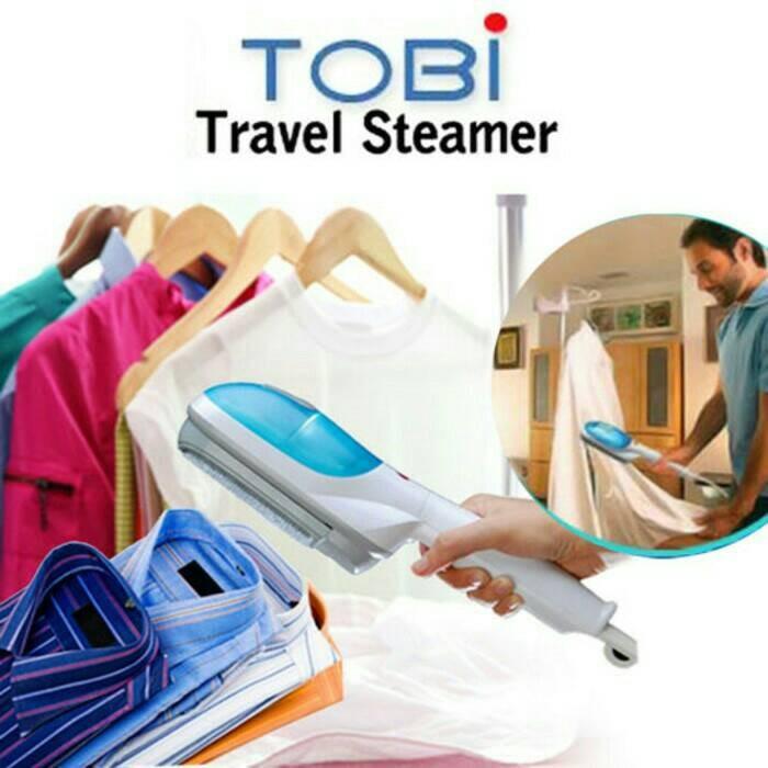 harga Setrika uap tobi travel steamer peralatan rumah tangga laundry Tokopedia.com