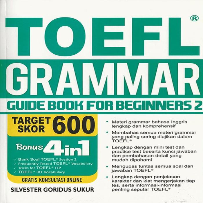 Toefl Grammar Book
