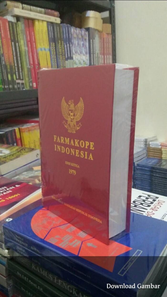 Farmakope indonesia edisi 3 tahun 1979 hc