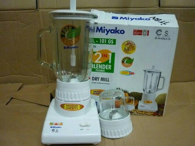 Jual Blender Miyako 101 Gs Blender Gelas Kaca Miyako 2 In 1