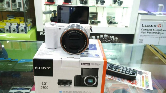 Sony kamera ilce a5100 kit 16-50mm