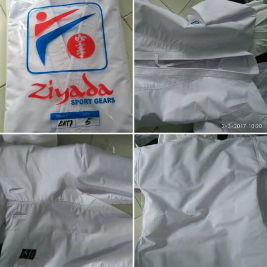 Foto Produk baju karate gi kata seragam pakaian kejuaraan Ziyada tegi dari 2V Online Shop