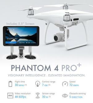 Foto Produk DJI Phantom 4 Pro+ Quadcopter w/5.5 Inch Screen dari IndoWebstorecom