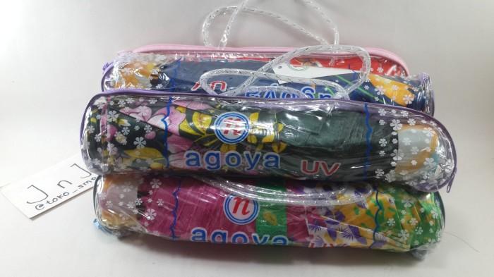 harga Payung lipat murah/ payung lipat mini/ payung lipat motif bunga Tokopedia.com