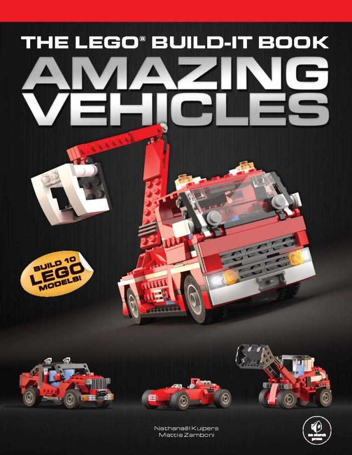 harga The lego build-it book, vol. 1: amazing vehicles [ebook/e-book] Tokopedia.com