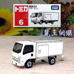 harga Tomica no 6 truck isuzu elf miniatur truk replika diecast truk reguler Tokopedia.com