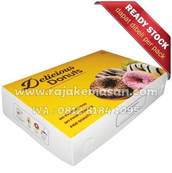 harga Dus donat, box donat, kotak donat, donuts box, kemasan donat, donuts Tokopedia.com