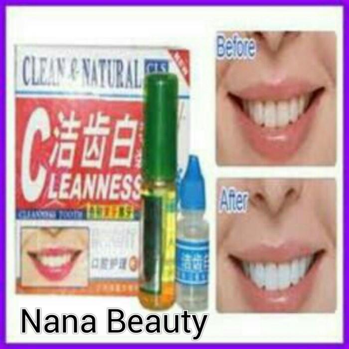 Jual Obat Pemutih Gigi Permanen Clean Natural Nanabeauty