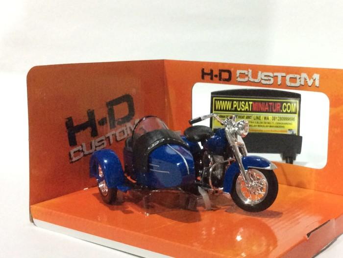 harga Harley davidson 1952 fl hydra glide with sespan - skala 1:18 Tokopedia.com