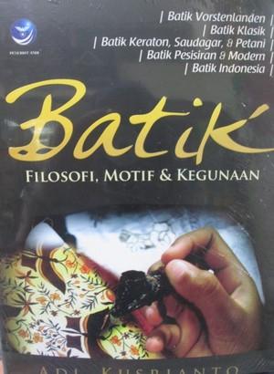 harga Buku batik filosofi motif dan kegunaanpenulis Tokopedia.com