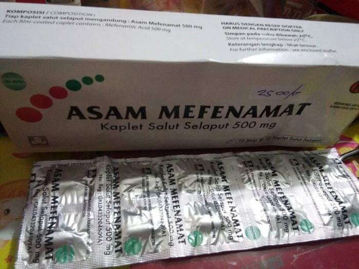 Hasil gambar untuk mefenamic acid obat apa