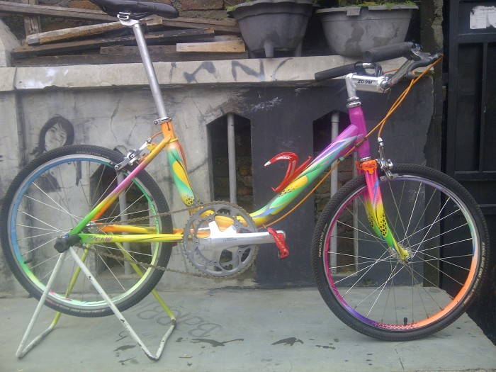 Jual sepeda mini track Kota Surabaya Toko Leara