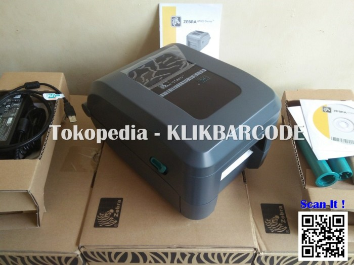 harga Barcode printer desktop zebra gt 820 ( best price ) Tokopedia.com