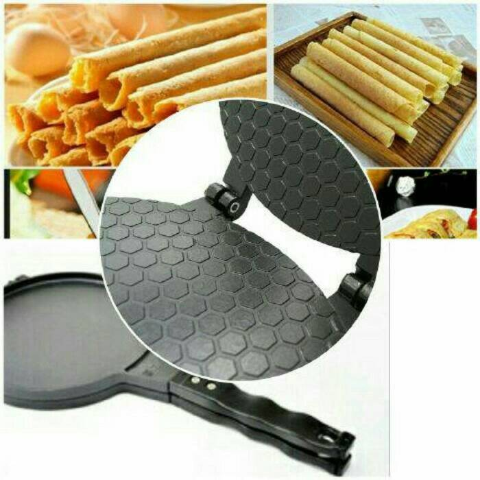 harga Cetakan kue semprong / egg roll bapel wafel waffle (tanpa listrik) Tokopedia.com
