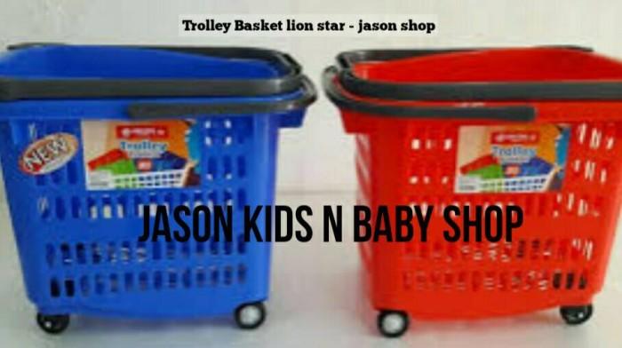 harga Trolley basket lion star 36s/trolly belanja lion star/keranjang lion Tokopedia.com