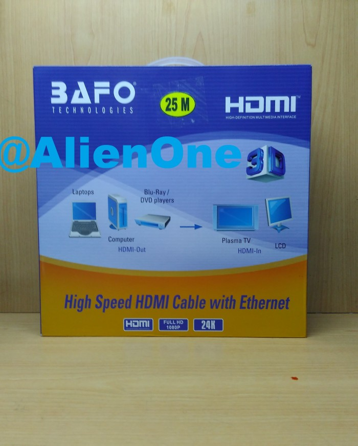 harga Kabel hdmi bafo 25m / high speed 25 meter Tokopedia.com