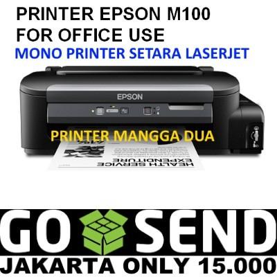 harga Epson m100 mono printer Tokopedia.com
