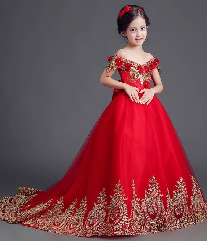 83c072c9f2d Jual A1702001 Gaun Pesta Anak Gaun Pengantin Anak Dress Anak - Kota ...