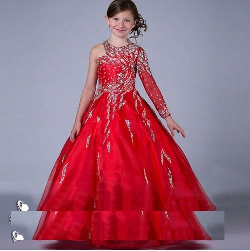 Jual A1702003 Gaun Pesta Anak Gaun Pengantin Anak Dress Anak Kota