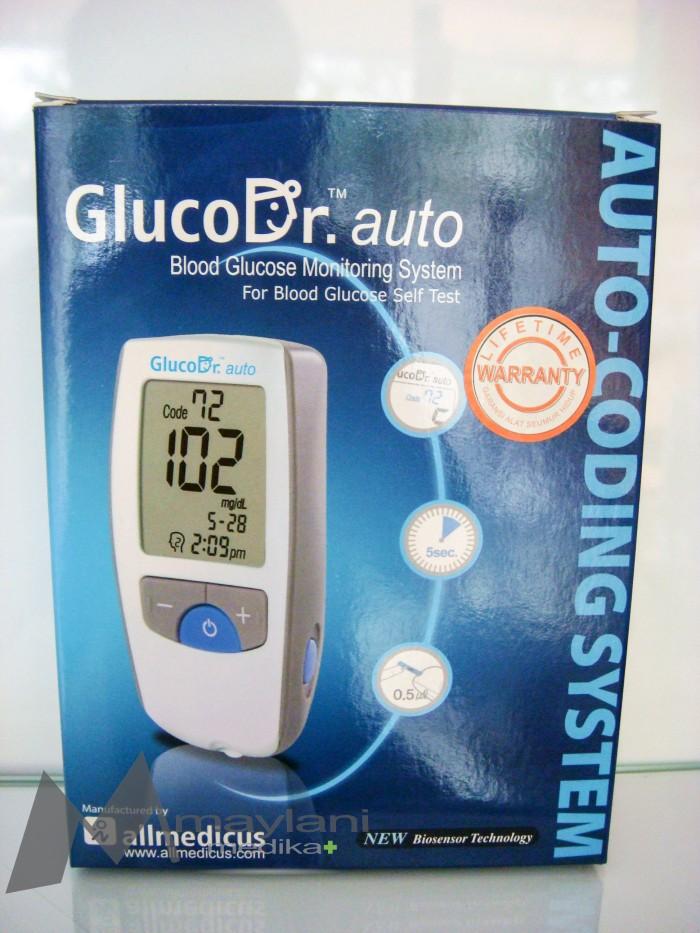 Jual Gluco Dr Auto AGM 4000 Blood Glucose Monitor Alat