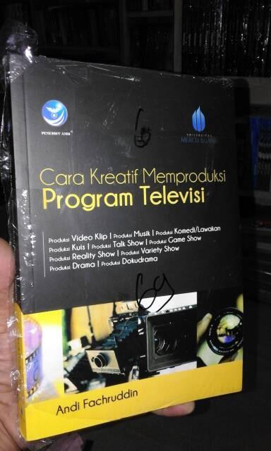 harga Cara kreatif memproduksi program televisi Tokopedia.com