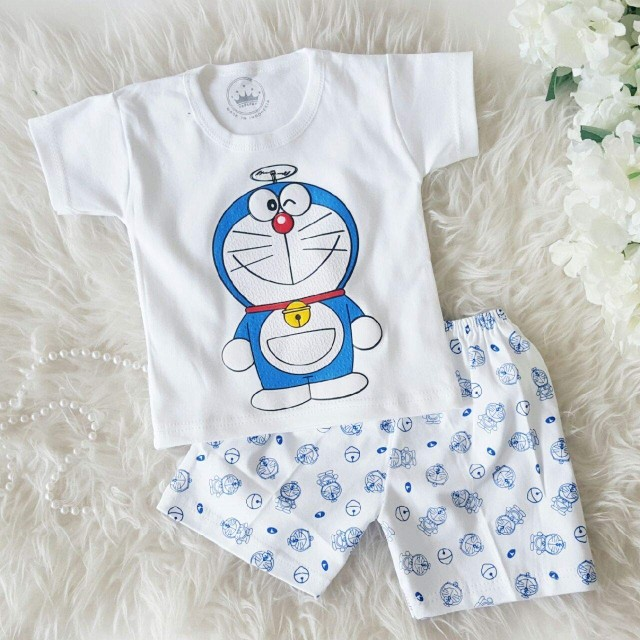 Jual Doraemon Baby Setelan Baju Bayi Lucu Jakarta Barat Vanesha Onlineshop Tokopedia