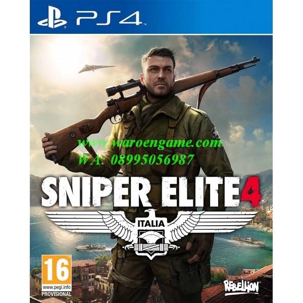 Ps4 sniper elite 4 (r2 / reg 2 / english, playstation 4 game)