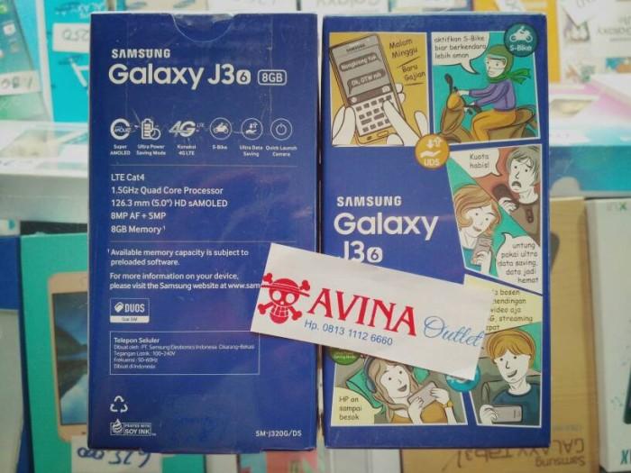 Samsung Galaxy J3 2016 - 8GB - RESMI - Putih