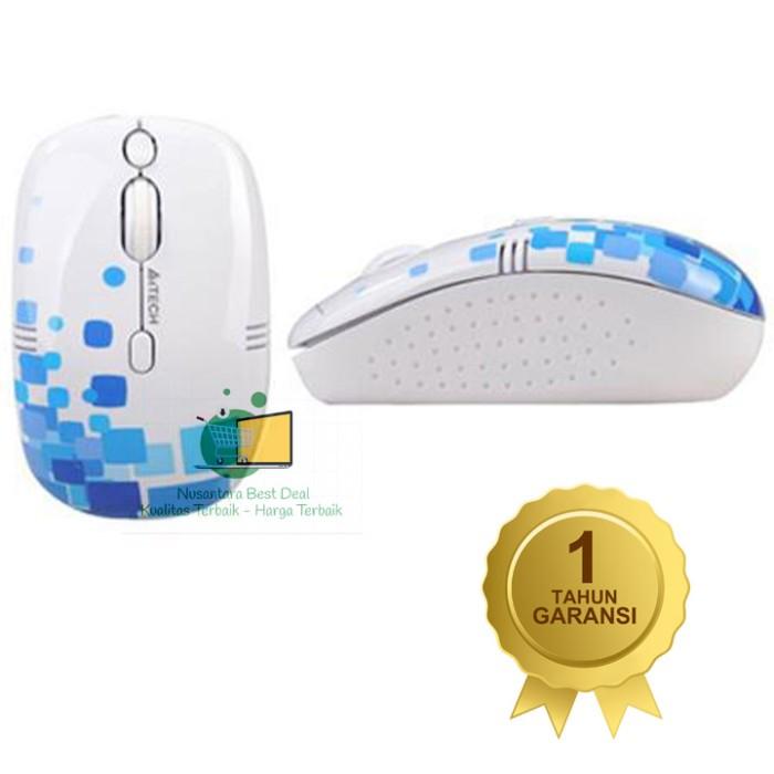 harga A4tech Mouse G9-550fx Wireless V-track Double-click, Original Tokopedia.com