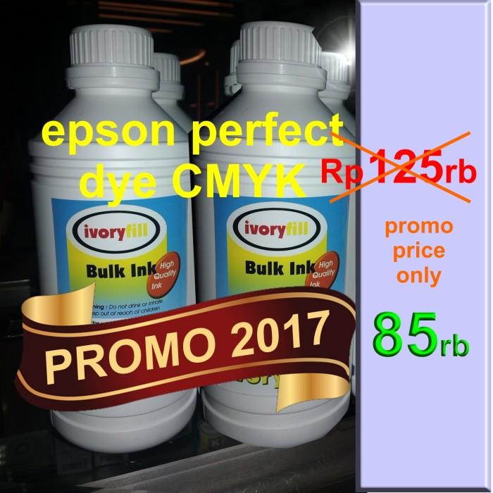 Foto Produk PROMO SALE ! TINTA EPSON 1 LITERAN CMYK dari Si Pesek