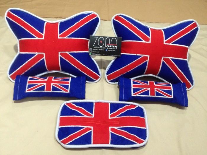 harga Bantal mobil motif bendera inggris/england/bantal custom Tokopedia.com