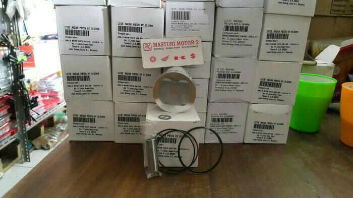 harga Piston kit jupiter mx lama/jupiter mx new bore up 60mm(pen 14) Tokopedia.com