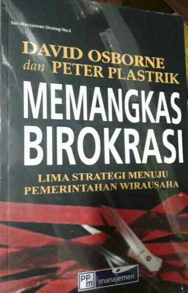 harga Buku memangkas birokrasi lima strategi menuju pemerintahan wirausaha Tokopedia.com