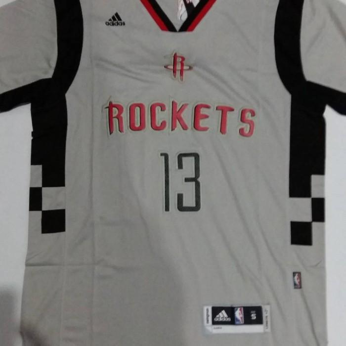 outlet store f918b 423bf Jual Jersey Basket Swingman NBA Houston Rockets James Harden Grey Sleeve -  Kota Batam - Elite Basketball Store | Tokopedia
